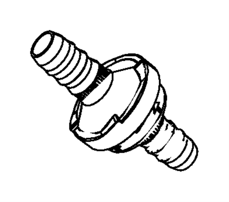 04581482aa jeep valve check brake booster vacuum hose 96 Jeep Cherokee Wiring Diagram