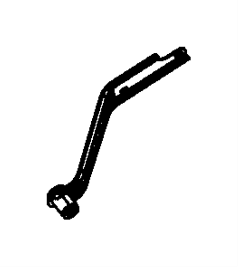 68084791AA - Jeep Bracket. Exhaust. System, dual | Jeep ...