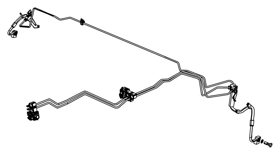 52124613ai jeep bundle fuel line engine ezh vvt 5 7 hemi mds vvt engine diagram