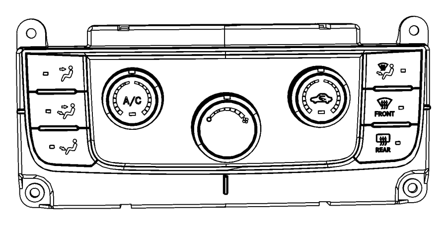 Jeep Grand Cherokee Control  Used For  A  C And Heater