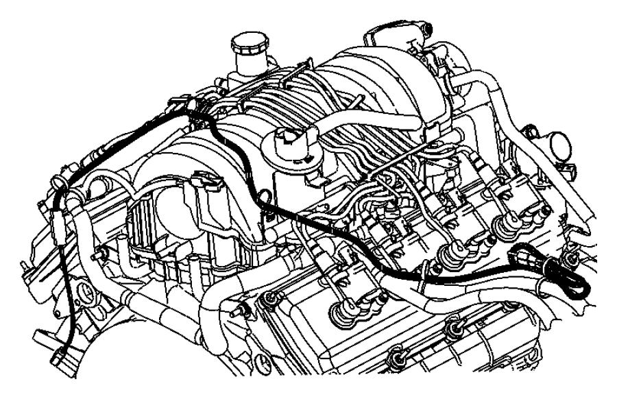 68070034ac Jeep Cord Engine Block Heater 5 7l V8 Hemi