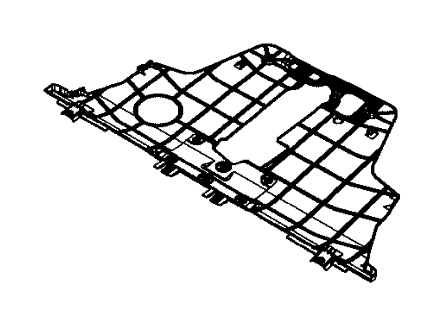 Jeep Underbody Parts Diagram Wiring Diagrams Wrangler 68248089aa Belly Pan Export Front Shields Cj7