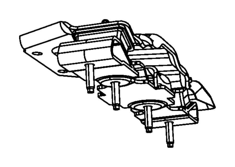 Jeep Wrangler Isolator Transmission Mount Case Mounting